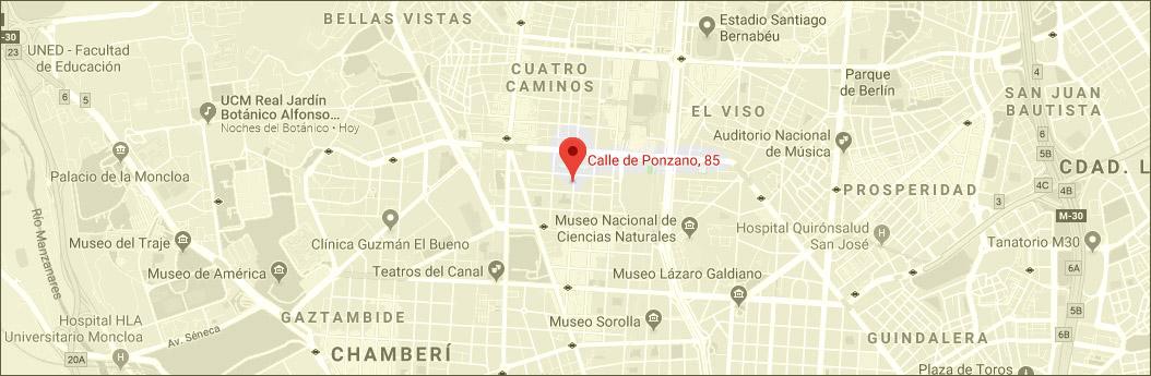 Calle Ponzano, 85 - Madrid